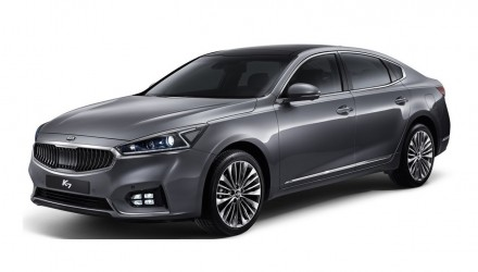 2016 Kia Cadenza revealed, new overseas-only large luxury sedan