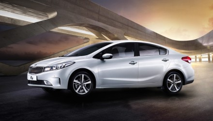 2016 Kia Cerato revealed in sedan form in South Korea