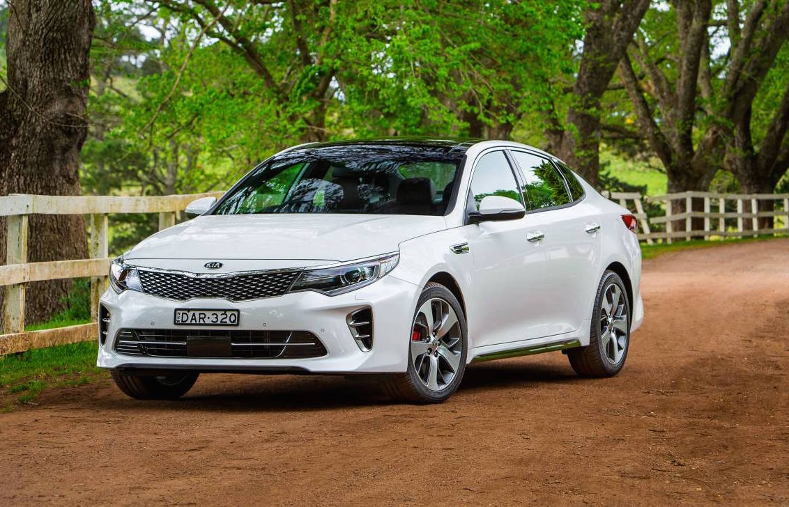 2016 kia optima on sale in australia from 34 490 gt turbo added performancedrive. Black Bedroom Furniture Sets. Home Design Ideas