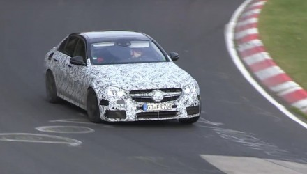 2017 Mercedes-Benz E 63 AMG 'W213' prototype spotted (video)