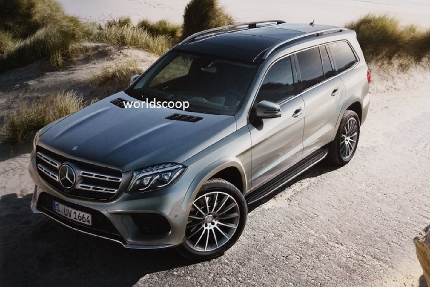 2016 mercedes benz gls leaked online replaces gl class