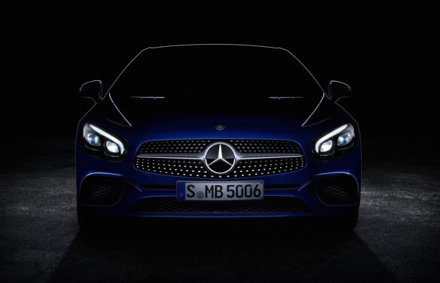 2016 Mercedes-Benz SL-Class preview