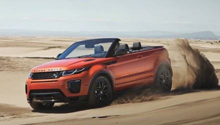 Range Rover Evoque Convertible revealed, on sale from AU$84,835