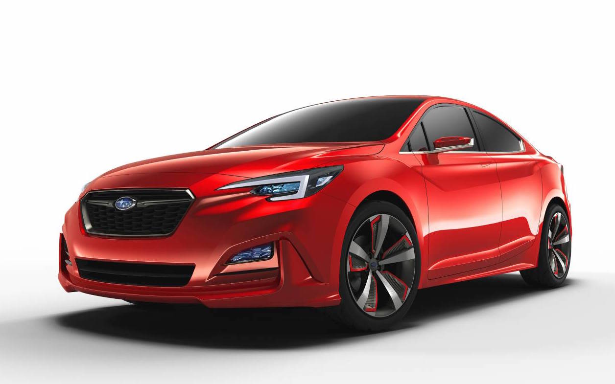 subaru impreza sedan concept previews next gen design. Black Bedroom Furniture Sets. Home Design Ideas