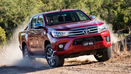 Australian vehicle sales for October 2015 – new HiLux takes charge