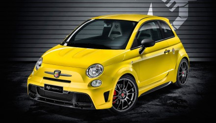 Abarth 695 Biposto Record edition announced in Europe