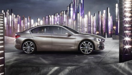 BMW Compact Sedan Concept revealed, previews 1 Series sedan