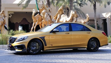 BRABUS Rocket 900 Desert Gold Edition debuts at Dubai show