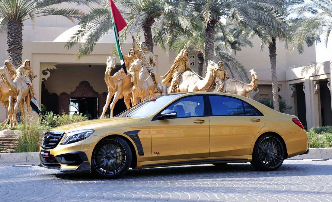 BRABUS Rocket 900 Desert Gold Edition debuts at Dubai show ...