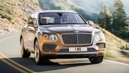 Performance coupe version of the Bentley Bentayga confirmed – report