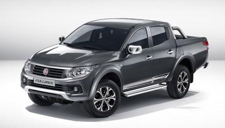 Fiat Fullback ute / pickup unveiled at Dubai Motor Show