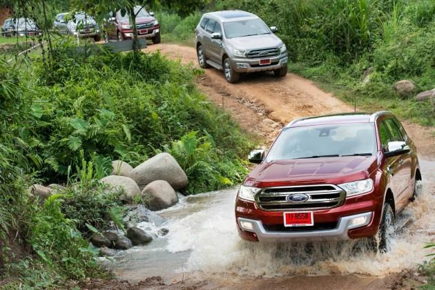 Ford Everest testing
