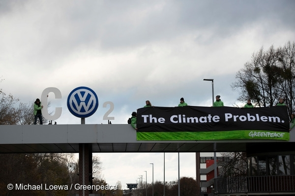 Greenpeace Volkswagen CO2