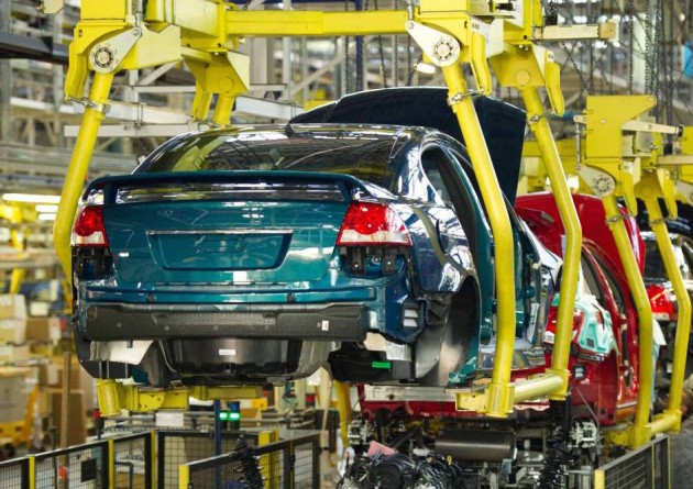 Holden Commodore production