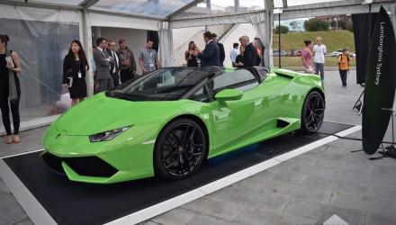 Lamborghini Huracan Spyder makes Australian debut