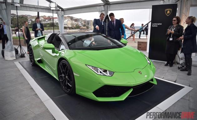 Lamborghini Huracan Spyder-Verde Mantis green