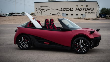 Local Motors unveils LM3D Swim; production-ready 3D-printed car