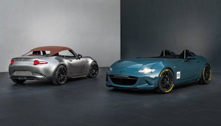 Mazda MX-5 Spyder & Speedster concepts unveiled at SEMA