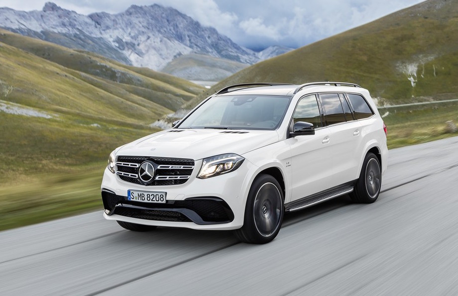 Mercedes benz gls officially revealed as gl class for Gls mercedes benz suv