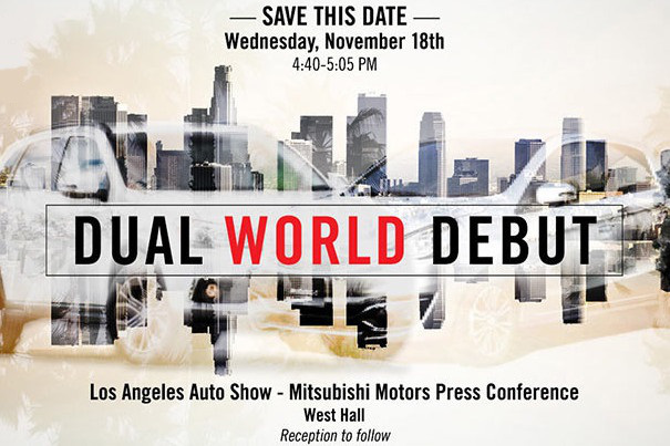 Mitsubishi 2015 LA show preview