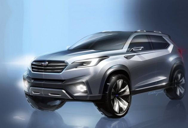 Subaru Confirms Tribeca Replacement For 2018 All New 7