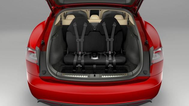 Tesla Model S 7 seats