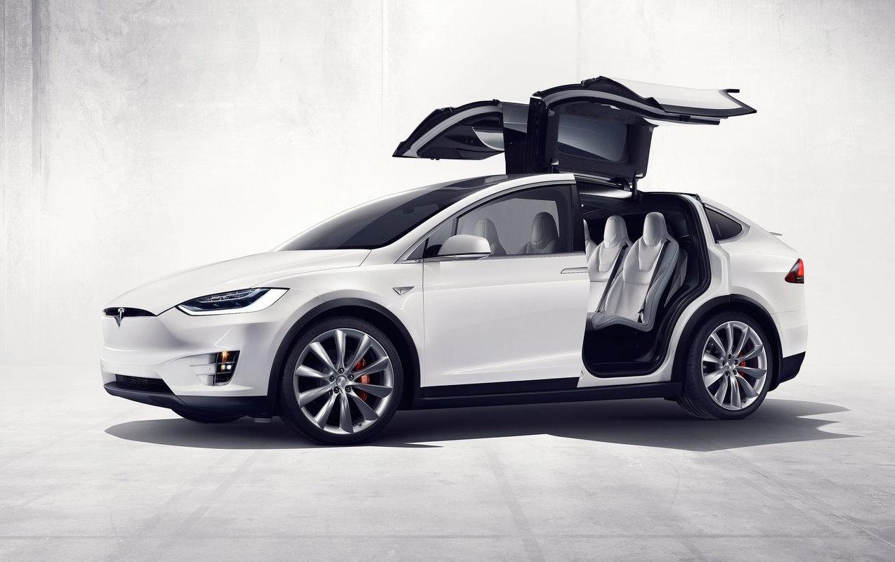 Captivating Tesla Model S Falcon Doors