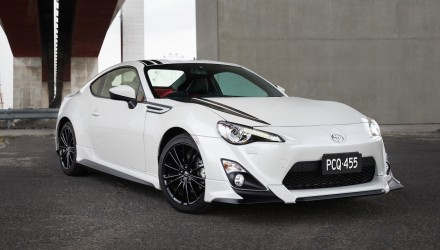 TRD Toyota 86 Blackline Edition on sale in Australia from $37,990