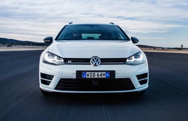 Volkswagen Golf front end