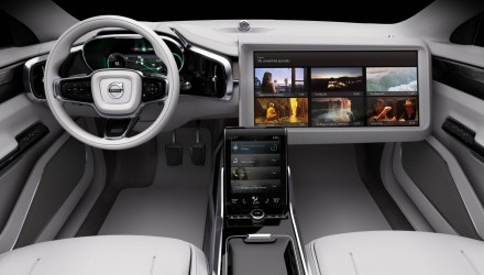 Volvo Concept 26 previews autonomous driving interior of the future
