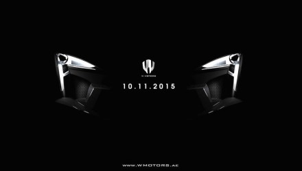 W Motors to debut new supercar at Dubai show: the Fenyr SuperSport