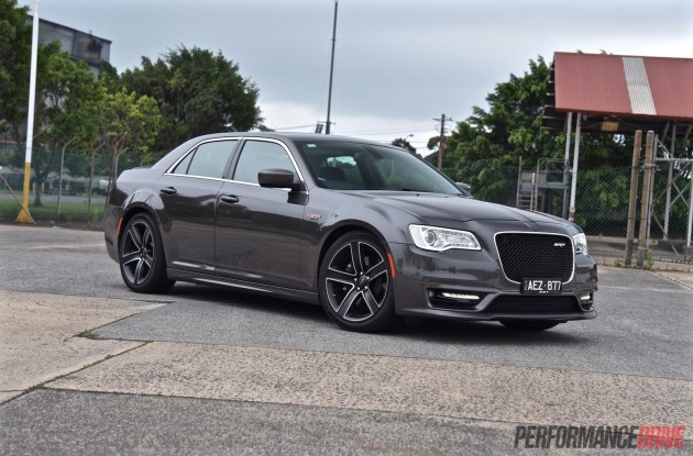 2016 Chrysler 300 SRT Core-grey