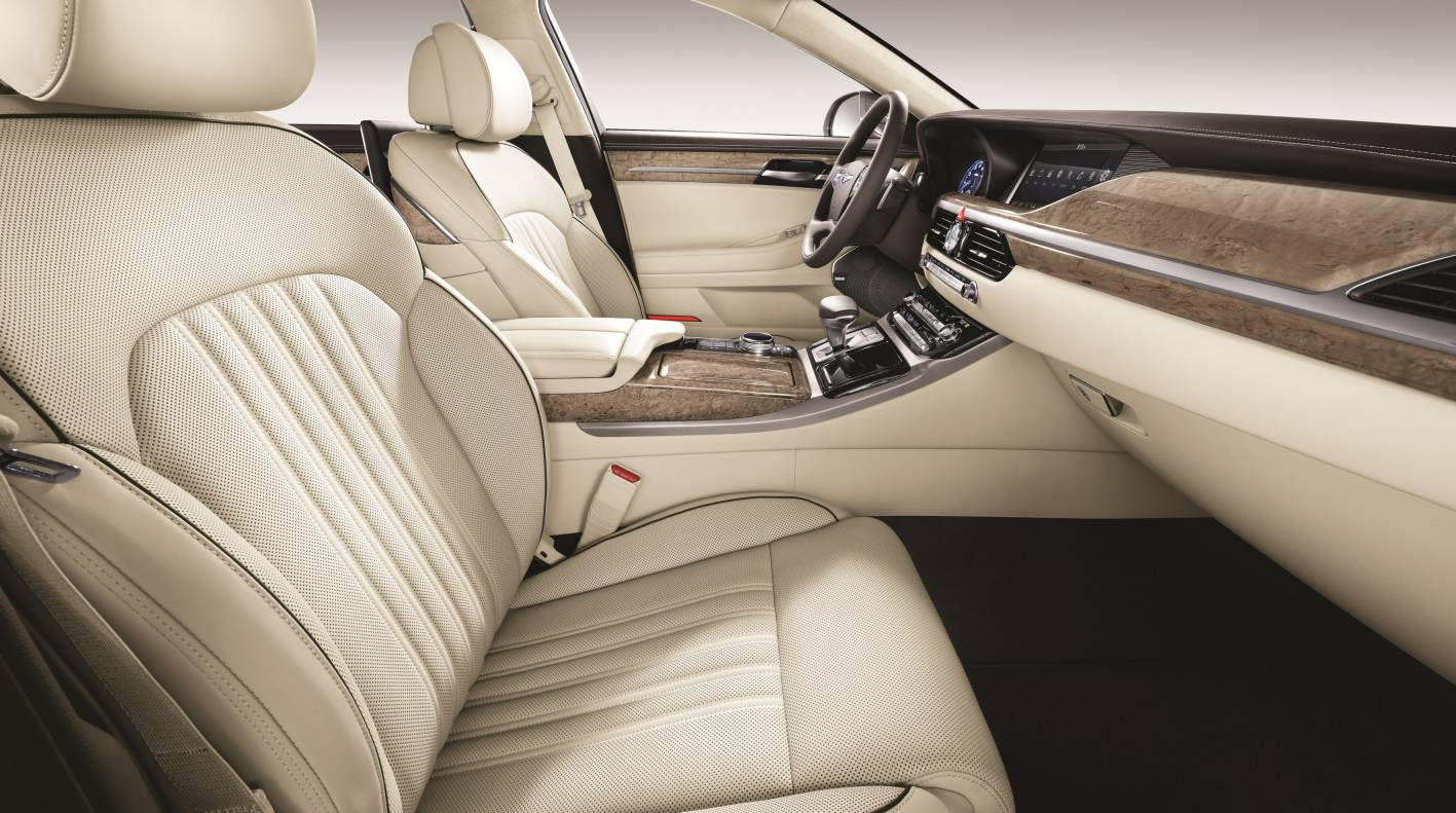2016 genesis g90 revealed hyundai 39 s new luxury flagship - 2016 hyundai genesis sedan interior ...