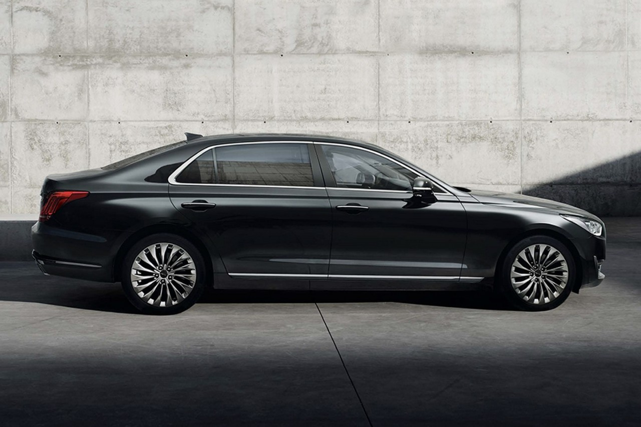 2016 Genesis G90 Revealed; Hyundai's New Luxury Flagship