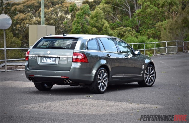 2016 Holden Calais V Sportwagon-rear