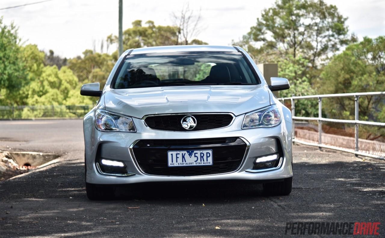 2016 Holden Commodore SV6 Sportwagon VFII review video