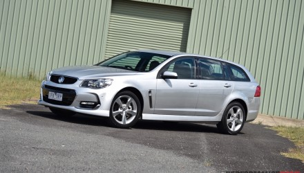 2016 Holden Commodore SV6 Sportwagon VFII review (video)