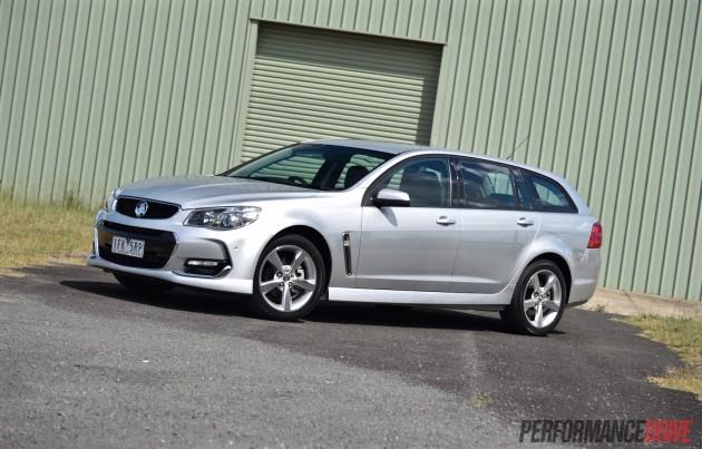 2016 Holden Commodore SV6-silver