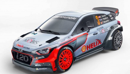 2016 Hyundai i20 WRC car revealed