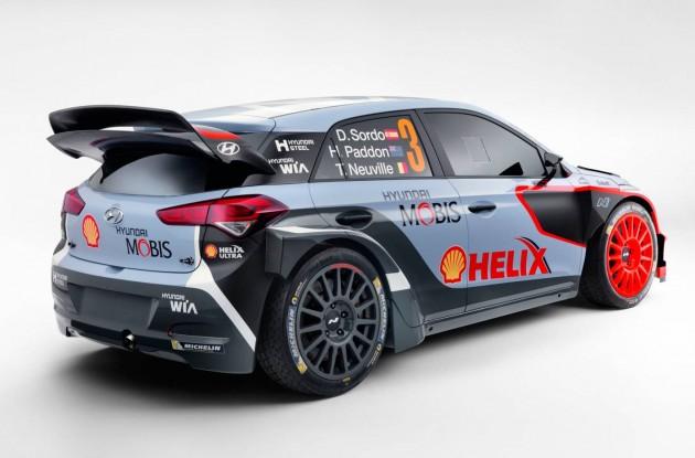 2016 Hyundai i20 WRC-rear