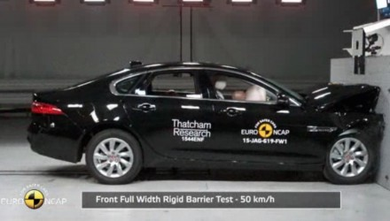 Jaguar XE & new XF receive 5-star Euro NCAP safety rating