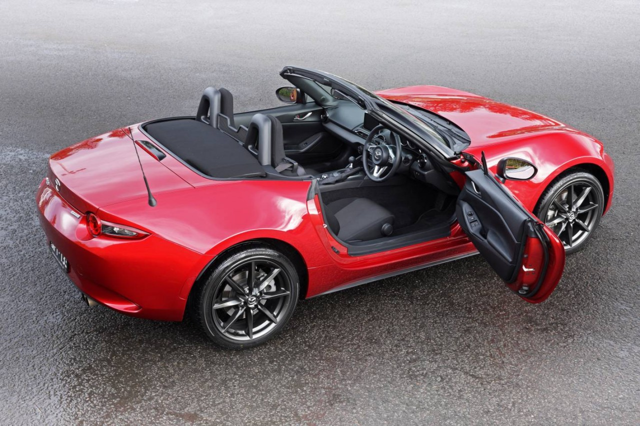 2016 mazda mx 5 2 0l now on sale in australia from 34 490 performancedrive. Black Bedroom Furniture Sets. Home Design Ideas