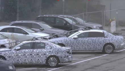 Mercedes-Maybach planning bespoke E-Class? Prototype spotted