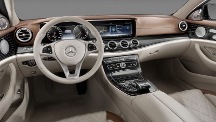 2016 Mercedes-Benz E-Class interior revealed