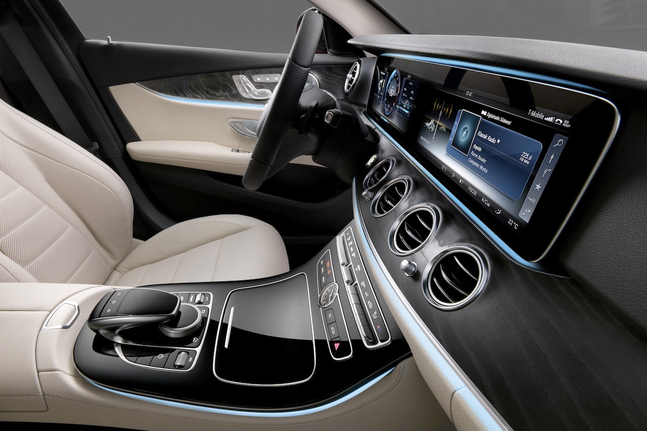 2016 mercedes benz e class interior revealed