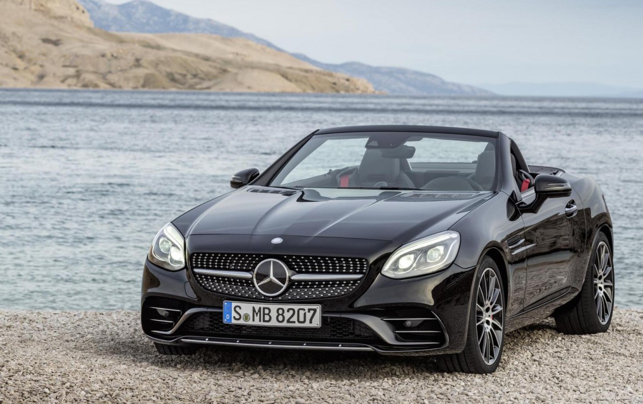 2016 mercedes benz slc slc 43 amg revealed new slk
