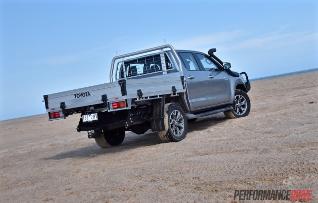 2016 Toyota HiLux SR-rear