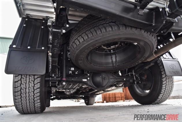 2016 Toyota HiLux SR-underbody