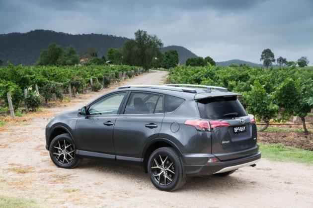 2016 Toyota RAV4 GXL-rear