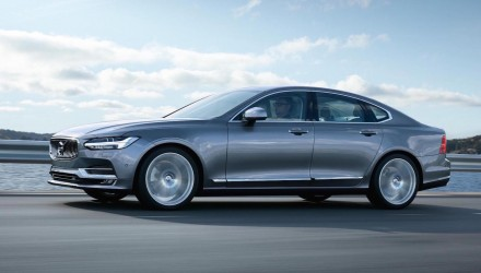 2016 Volvo S90 officially revealed